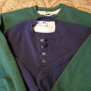 Bundle of 2 Russell Athletic sweaters